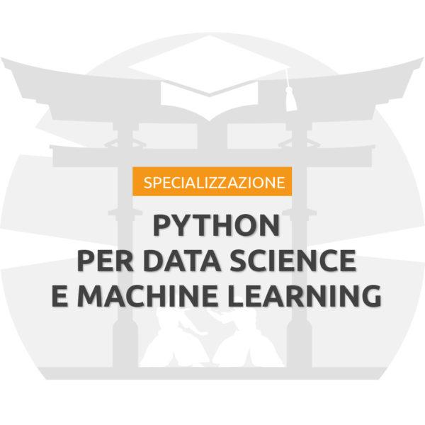 Specializzazione Python per Data Science
