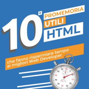 promemoria utili HTML