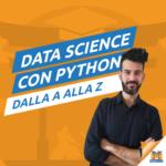 Il logo del gruppo di Data Science con Python dalla A alla Z – Sensei: Riccardo Galeotti
